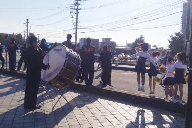 富山マラソン2016応援2