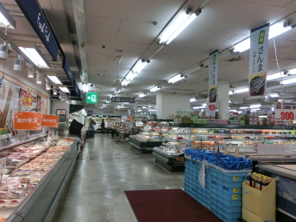 地階鮮魚から惣菜