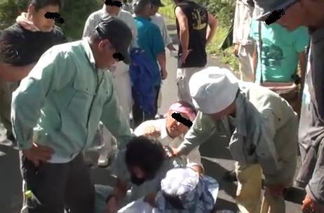 沖縄 反対派暴力