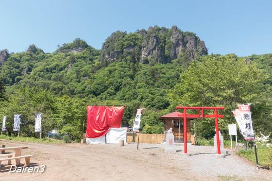 密岩神社里宮