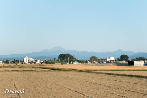 快晴の朝 浅間山