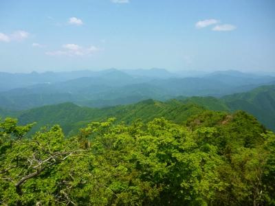 三峰山から高見山へ 縦走