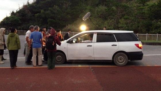 近も、TBSは、沖縄の高江ヘリパッド建設に対する妨害テロ活動の同行取材も行っている。