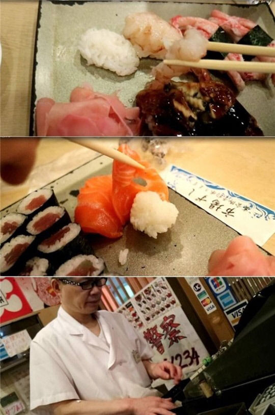 """【韓国メディア】ワサビテロ寿司店、今度は""""わさび抜き""""で韓国人を愚弄か 店員は「お前らが入れるなと言ったろ」という反応を見せた"""