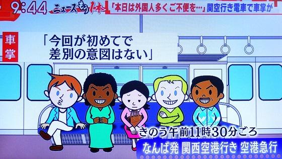 モーニングショー 玉川さんの発言も羽鳥さんの発言も「外国人はうるさい」がなぜか事実認定済の前提になっており、それこそがまず問題だと思うのですがこの絵はさらにダメ。こないだの「受け手が差別と感じたら差別