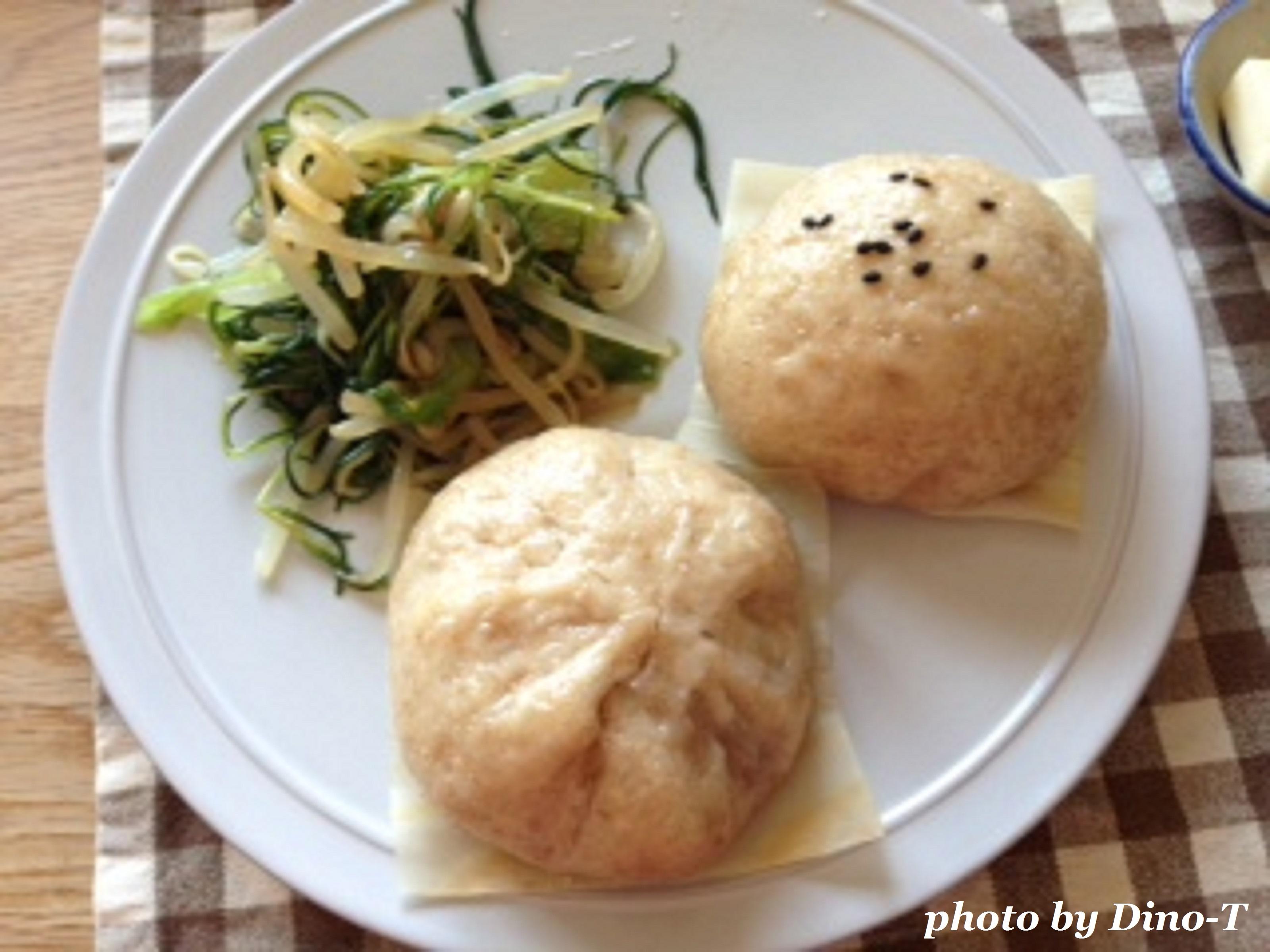 大豆のお肉のマンドゥー2
