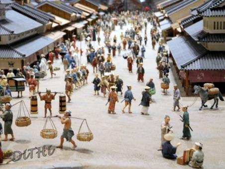 江戸東京博物館ジオラマ
