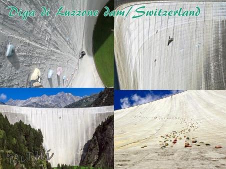 Diga di Luzzone dam