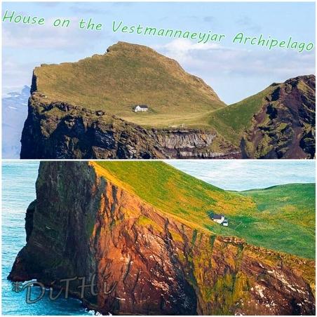 House on the Vestmannaeyjar Archipelago