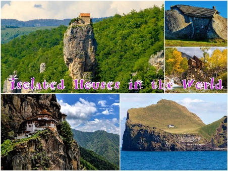 The 5 most isolated houses in the world