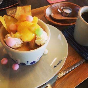 季節のカップケーキ マロン