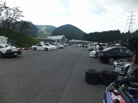 天山リゾートわいわい走行会 (2)
