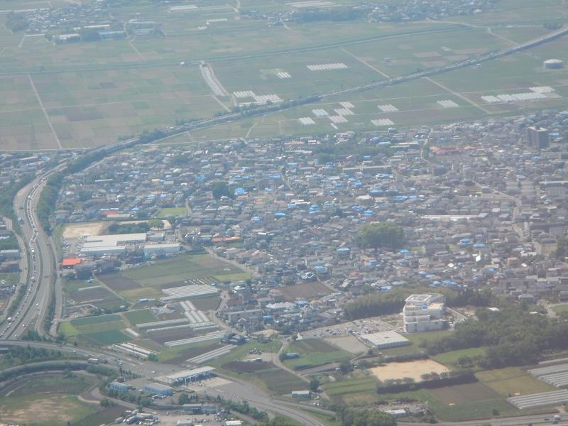 上空からの熊本市内
