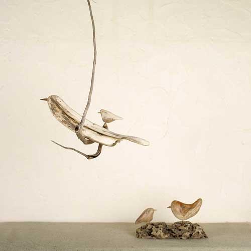 流木の鳥ー新作ー4