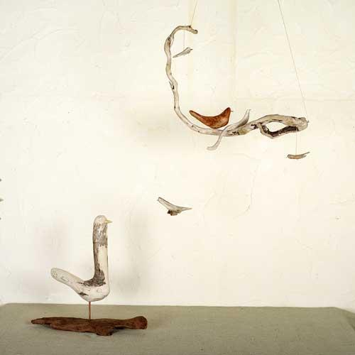 流木の鳥ー新作ー8