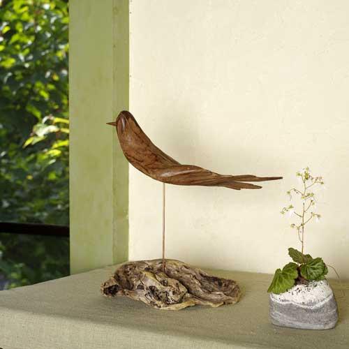 流木の鳥ー6