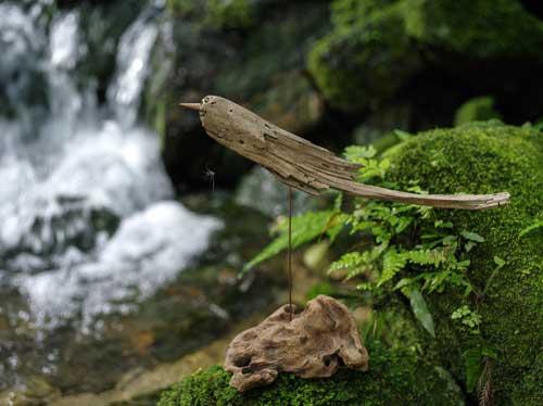 流木の鳥ー3