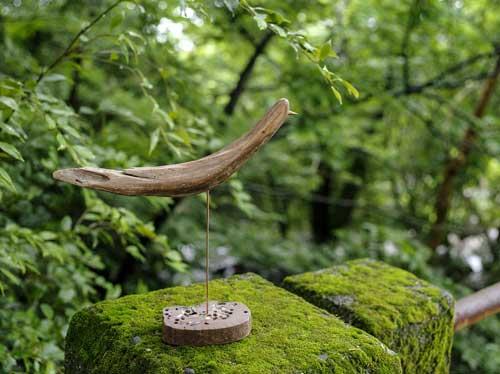 流木の鳥ー1