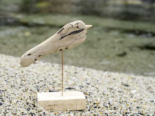 流木の鳥ー2