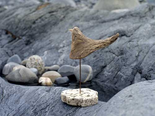 流木の鳥ー5