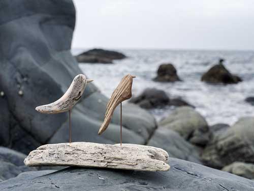 流木の鳥ー4