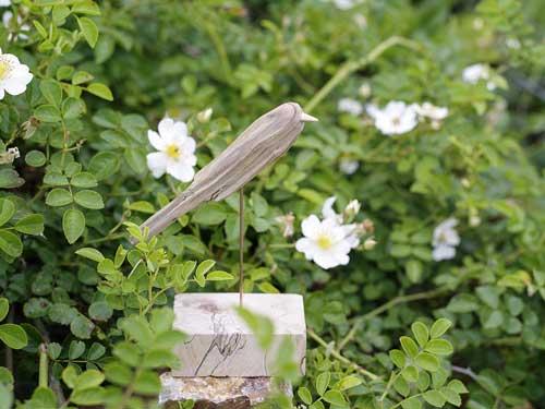 流木の鳥ー8