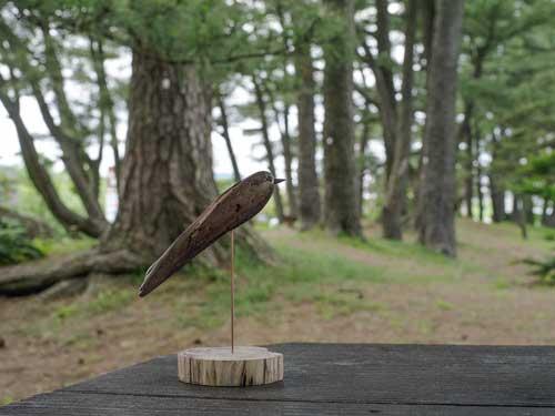 流木の鳥、7-30-4