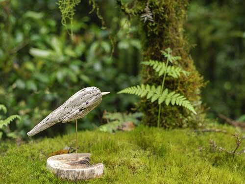 流木の鳥ー9