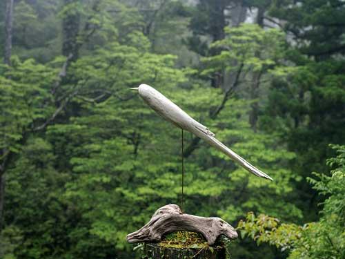 流木の鳥ー7-16-5