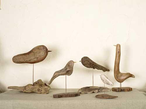 流木の鳥ー10