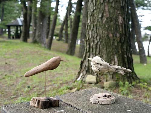 流木の鳥―2016-7-9-8
