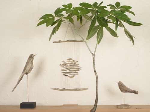 流木の鳥ー2016-8-27-2