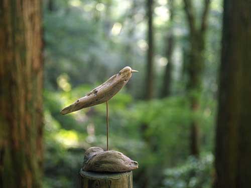 流木の鳥ー2016-10-9-6