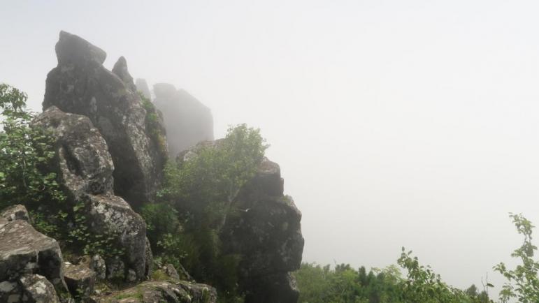 藻琴山登山