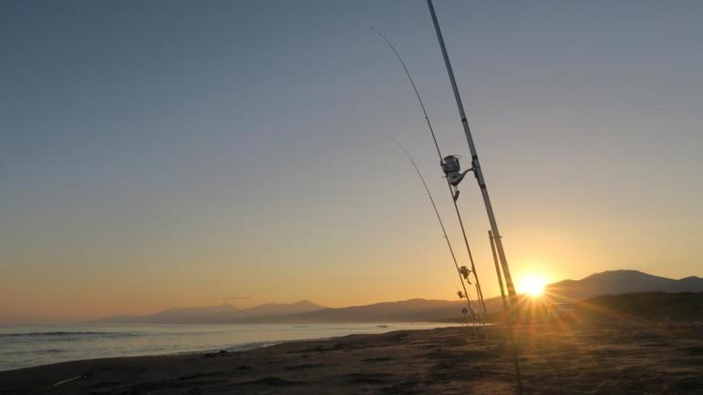 オホーツクの海へ アキアジ釣り