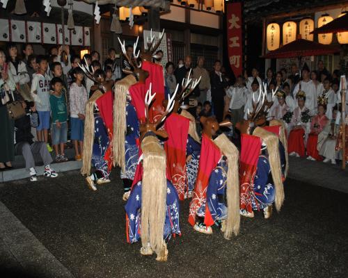 八つ鹿(宵宮祭)
