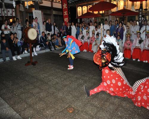 獅子舞(宵宮祭)