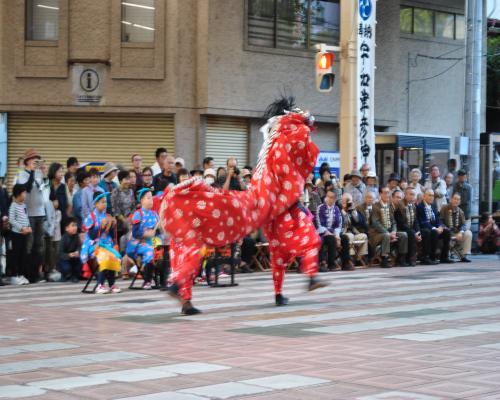 獅子舞(袋町商店街)