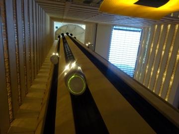 マリオットマーキーホテルのエレベーター