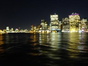 ビルの夜景