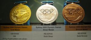 シドニーオリンピックの金メダル・銀メダル・銅メダル