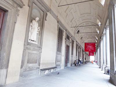 ウフィッツィ美術館入口