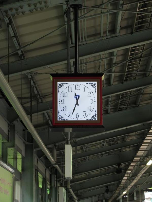 新神戸駅ホーム時計