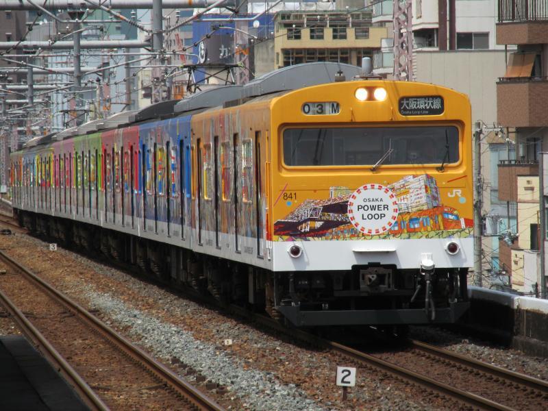 鶴橋駅103系1