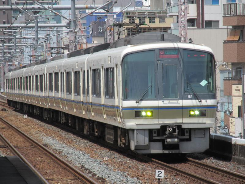 鶴橋駅221系