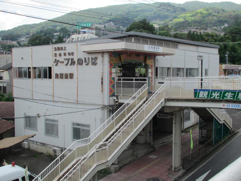 鳥居前駅1