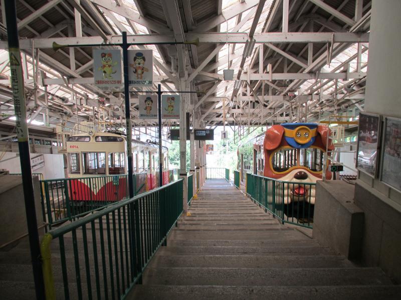 宝山寺駅2