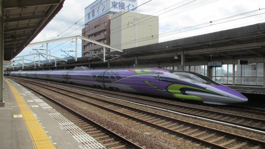 エヴァンゲリオン新幹線(徳山)