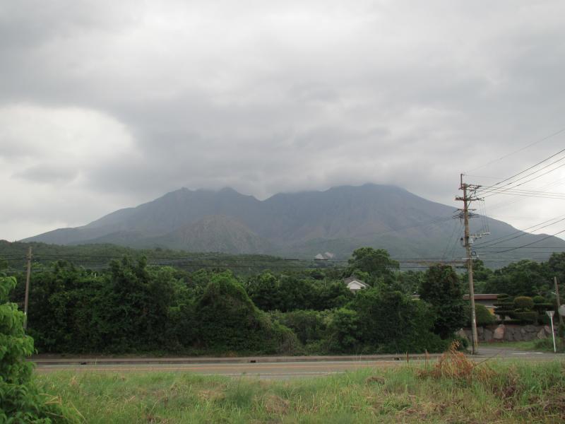 桜島遠望3