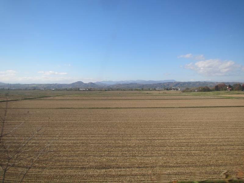 函館本線車窓